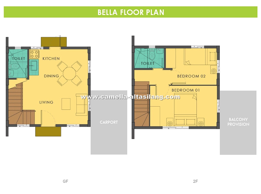 Bella House for Sale in Camella Alta Silang