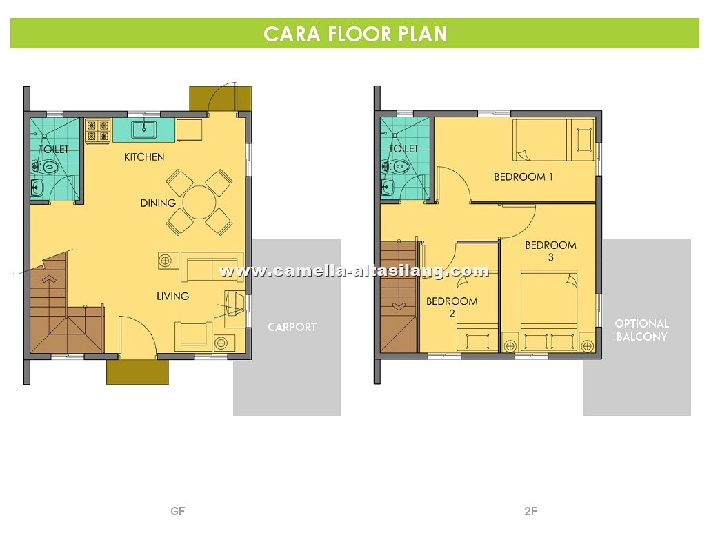 Cara House for Sale in Camella Alta Silang