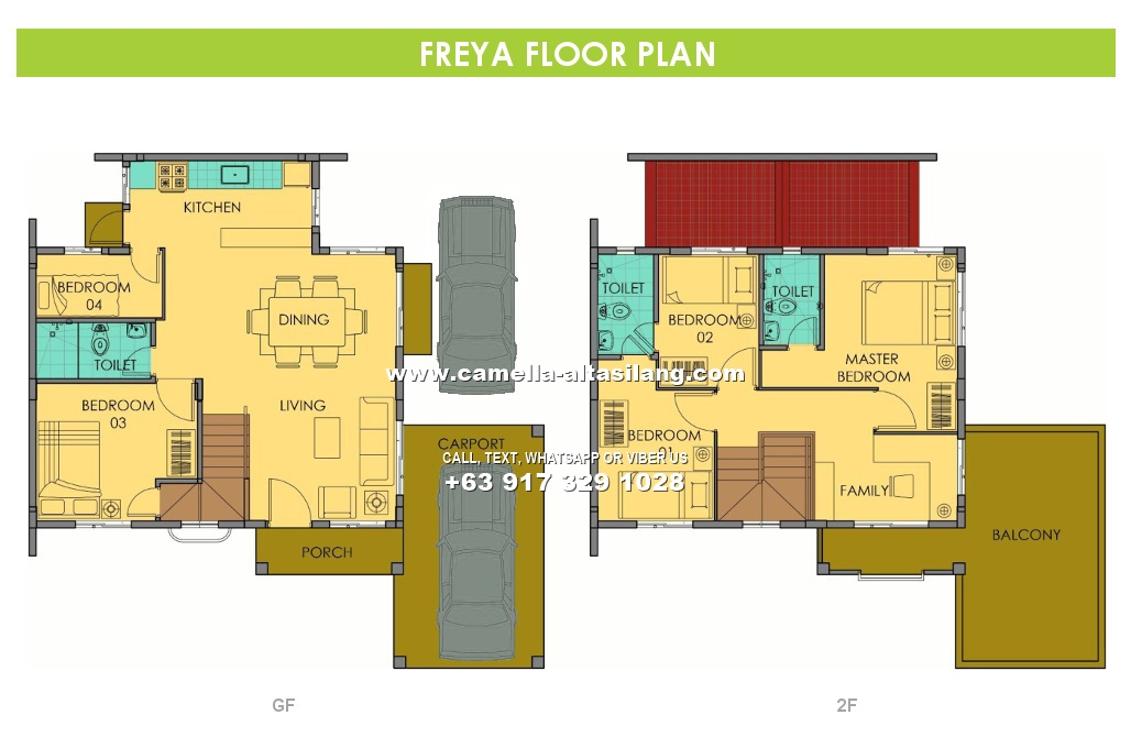 Freya House for Sale in Camella Alta Silang