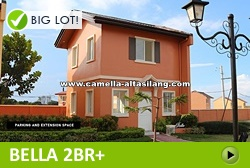 Bella Rest House and Lot for Sale in Camella Alta Silang Philippines