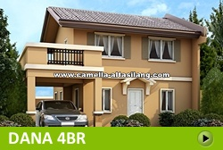 Dana Rest House and Lot for Sale in Camella Alta Silang Philippines