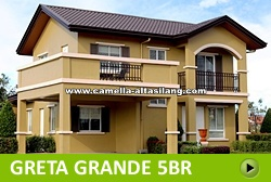 Greta Rest House and Lot for Sale in Camella Alta Silang Philippines