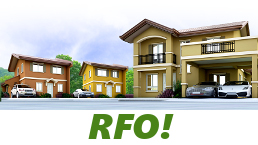 RFO Units for Sale in Camella Alta Silang.